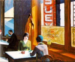 E. Hopper, Chop-suey, 1929, Collection of Barney A. Ebsworth
