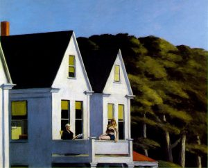 E. Hopper, Second story sunlight, 1960, Whitney museum of american art, New York