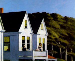 E. Hopper, Second story sunlight, 1960, Whitney museum of american art, New York