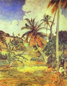 P. Gauguin, Palmiers de Martinique, 1887