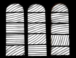P. Soulages, vitraux de l'abbaye de Conques (Aveyron)