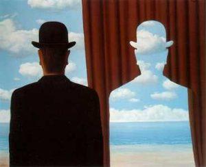R. Magritte, La décalcomanie, 1966