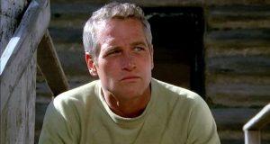 Paul Newman (Hank) dans l'adaptation qu'il a lui-même réalisée au cinéma (Le Clan des irréductibles, 1971)