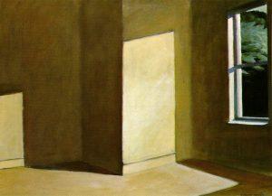 E. Hopper, Sun in an empty room, 1963, Museum of fine Arts, Boston,