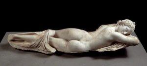 Hermaphrodite endormi, IIe s. av. J.C., Palazzo Massimo, Rome
