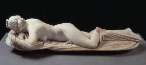 Hermaphrodite endormi, IIe s .av J.C., Palazzo Massimo, Rome