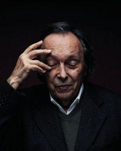 J. Starobinski photographié par Manuel Braun