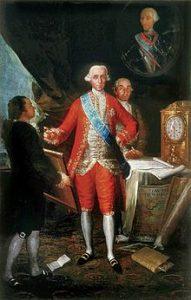 Le comte de Floriadablanca, Francisco Goya, huile sur toile, 1783, collection particulière,